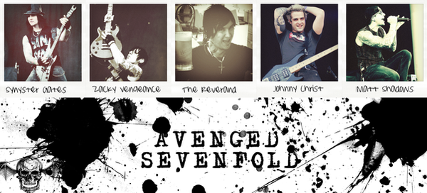Avenged Sevenfold by EscapedSacrifice