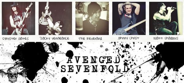 Avenged Sevenfold by EscapedSacrifice