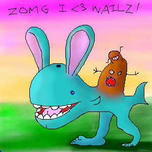 I HEART WAILZ by LOLWTFBBQ