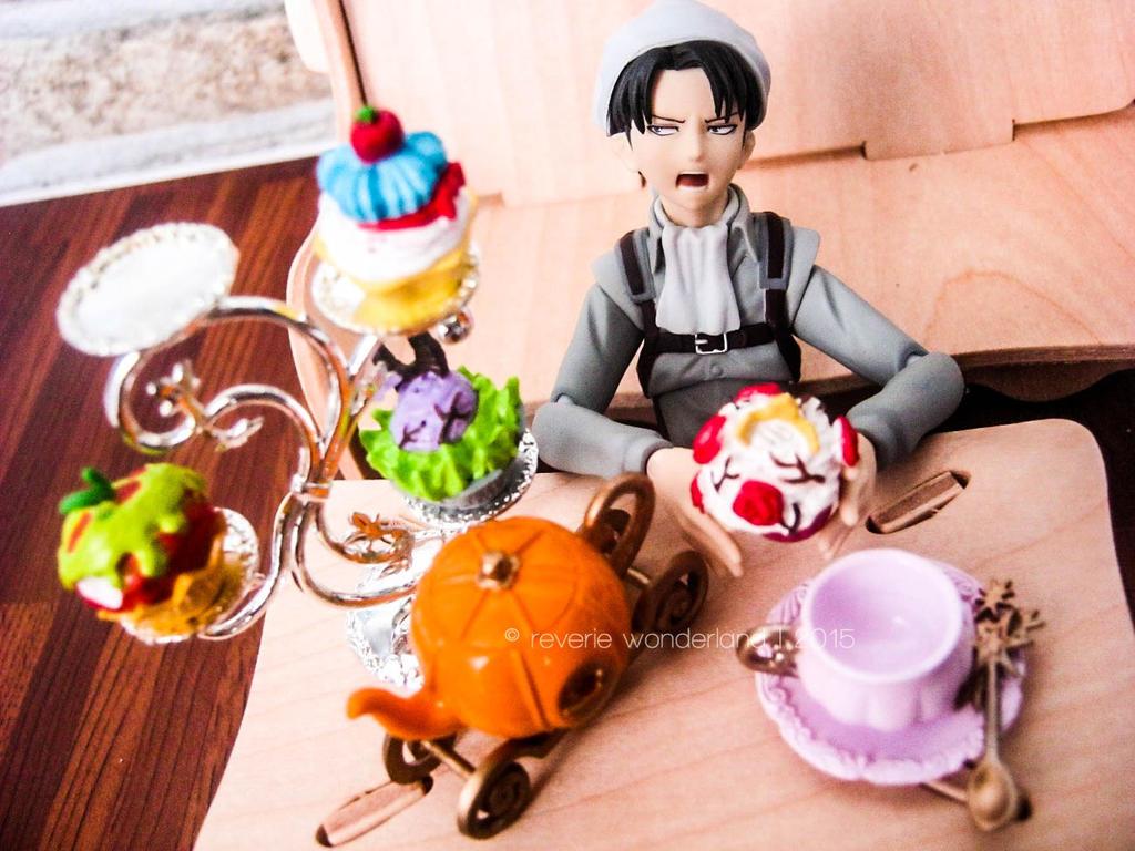 [Figma] Levi Afternoon Tea Time