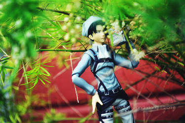 [Figma] Levi the Videographer(?) by reveriewonderland