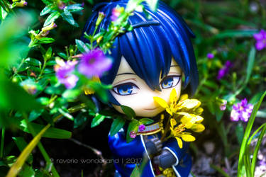 [Nendoroid] Mikazuki Munechika ~At the Garden~ by reveriewonderland