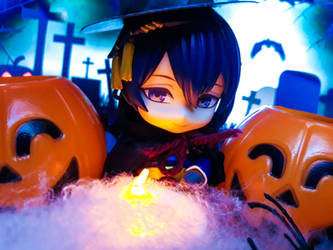 [Nendoroid] Happy Halloween from Jiji! by reveriewonderland