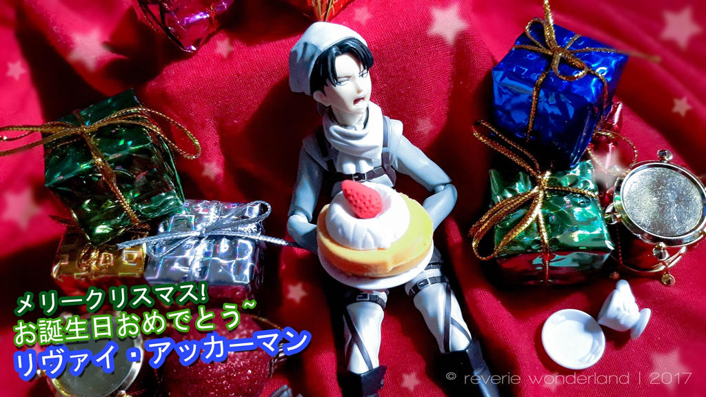 Happy birhday, Levi-Heichou! 12-25-17