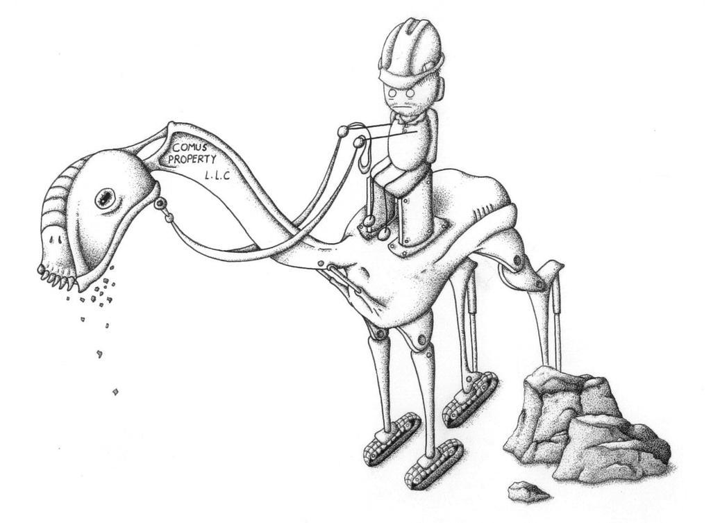 Excavator beast by Reinhard-Gutzat