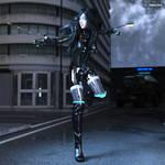 Ann Mako Cyber Valkyrie