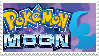Pokemon Moon stamp by HypnoDrama