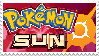 Pokemon Sun Stamp by HypnoDrama
