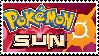 Pokemon Sun Stamp by HypnoDrama