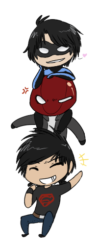 DC Chibi Tower by The-Chibster on DeviantArt