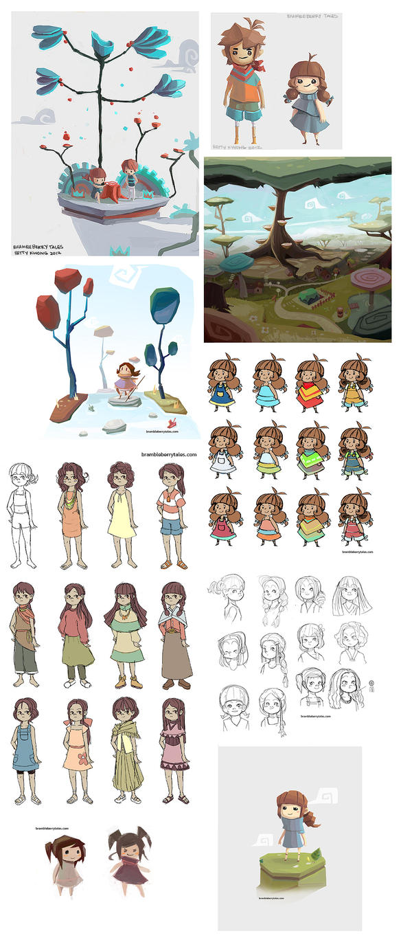 Bramble Berry Tales Concepts 01 by BettyKwong