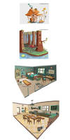 Bramble Berry Tales Concepts 06 Environments by BettyKwong