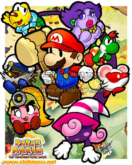 Paper Mario 2 TTYD by BettyKwong on DeviantArt