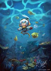 Space Ocean by BettyKwong