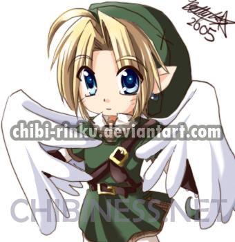Zelda TP-Chibi Link by BettyKwong