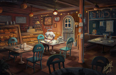 Closing time by BettyKwong