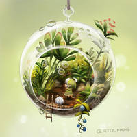 Tiny Terrarium by BettyKwong
