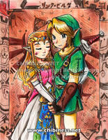 Contest- Link+Zelda by BettyKwong