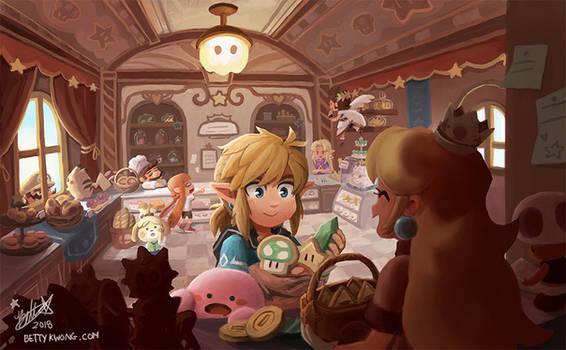 Princess Peachs Bakery