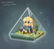 Triforce Terrarium