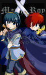 Marth and Roy