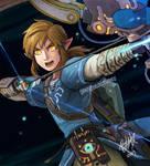 Link's final smash!