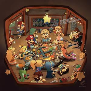 Smash Bros Hot Pot!