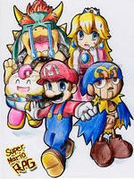 Super Mario RPG by BettyKwong