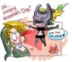 ... happy valentines day?