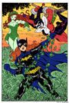 Batgirl vs PoisonIvy Harley by Dogsupreme