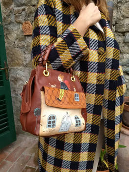 a fanciful vintage/naive bag!