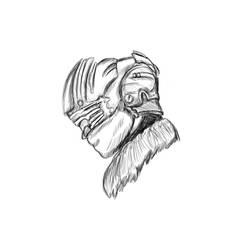 Arctic Survival Suit Sketch by camarosquid