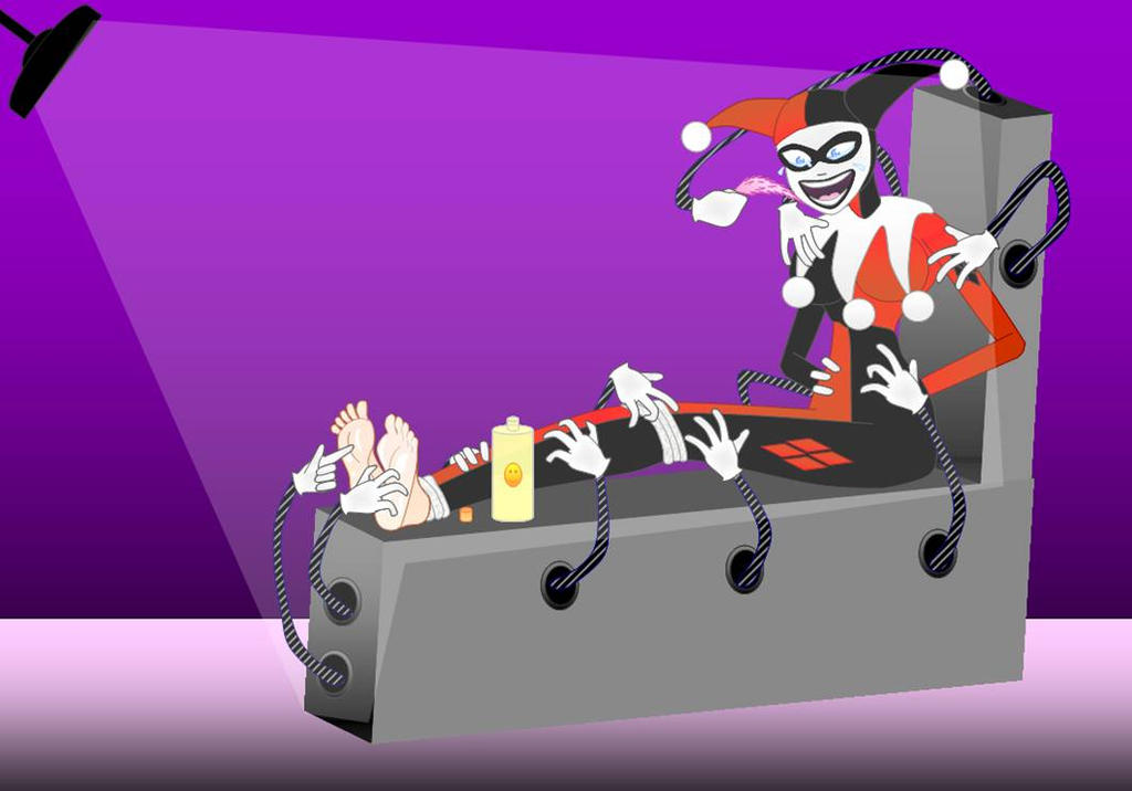 Harley Quinn Tickled Related Keywords Harley Quinn Tickled Long – The Tickle Chair