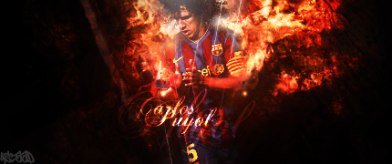Sign-Carlos Puyol by as3aaD