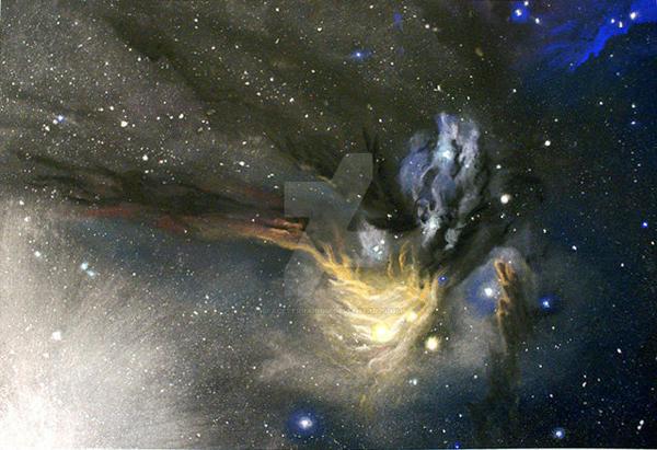 Rhoophiuchi by spaceterrarium