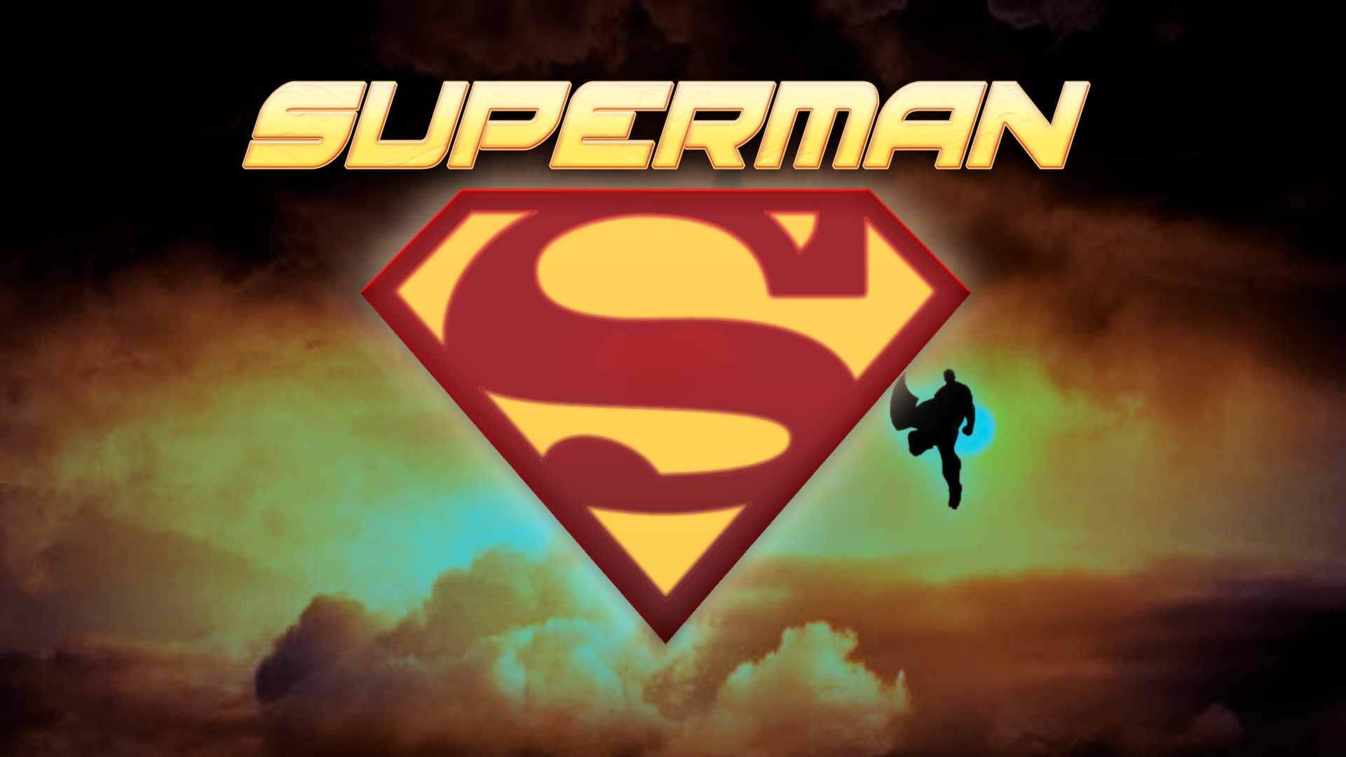 Superman man of steel logo wallpaper 1920x1080 by revafallarts on deviantart - Wallpaper superman man of steel ...