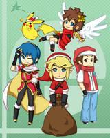 Super Smash Holidaaaays by thiefXrikku