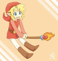 Red Link by thiefXrikku
