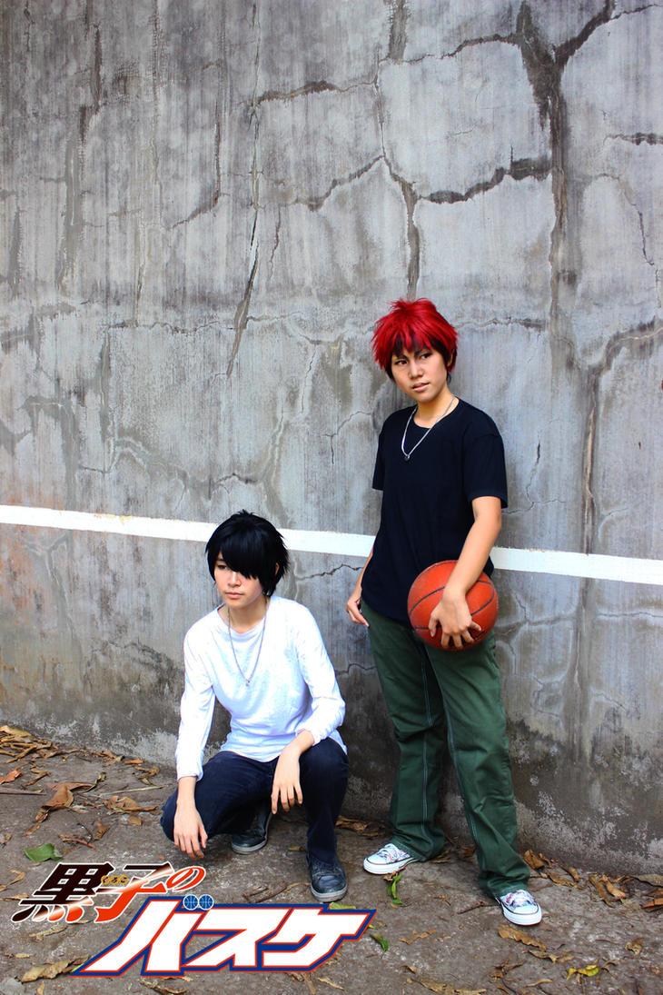 Kuroko no Basuke- Kagami and Himuro by Adelaide-Chrome