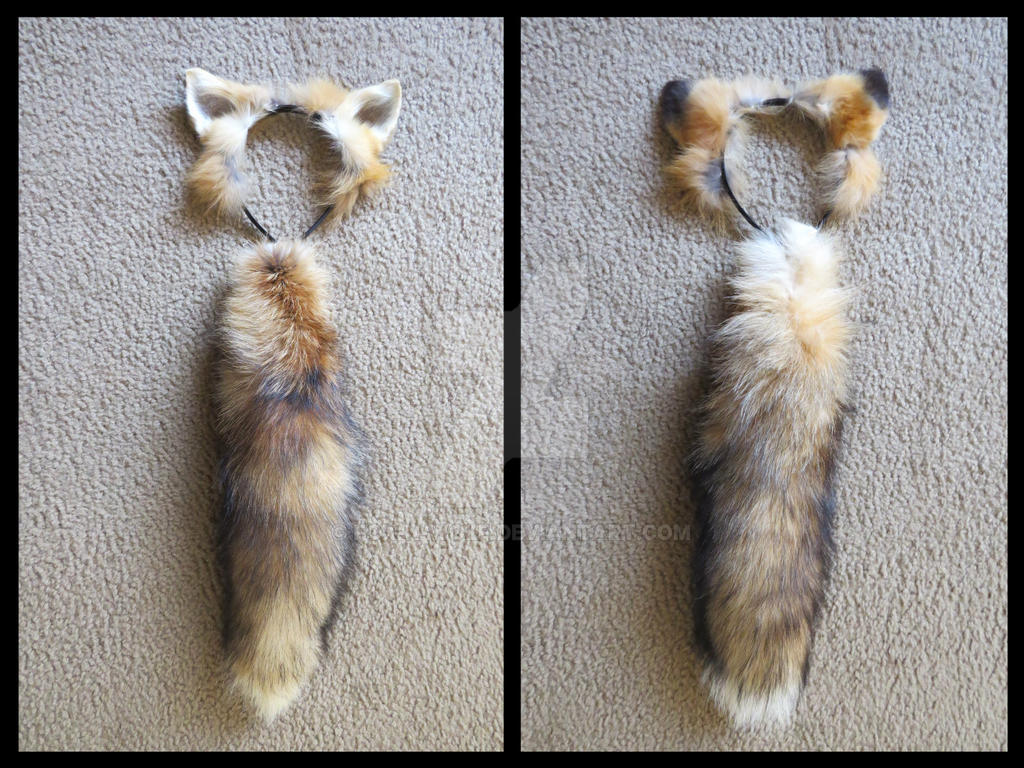 Fox Ears and Tail FOR SALE