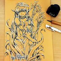 dryad sketch by pelpin