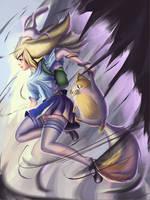 Fanart Fionna|cake Adventure time by ayasakiikusaa