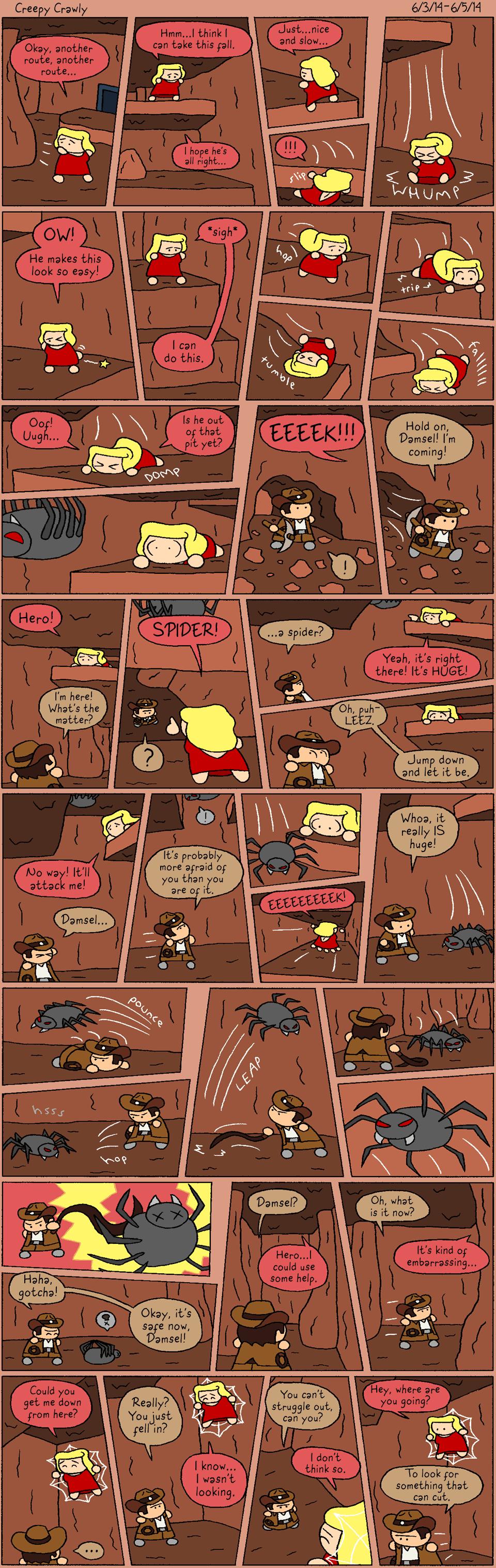 1-5 Creepy Crawly by halibabica