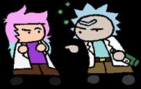 JotC #14: Clara and Rick by halibabica