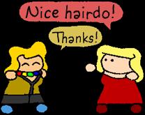 Mizuki and Damsel by halibabica