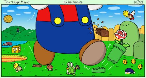 Tiny-Huge Mario