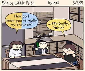 She of Little Faith