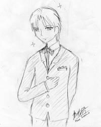 Reuben Langdon at your service by Natsumi726