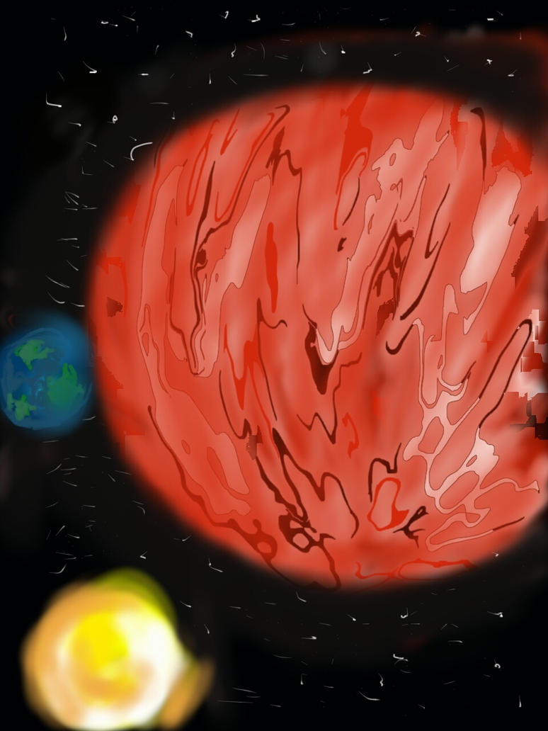 red planet by Rinnysaito