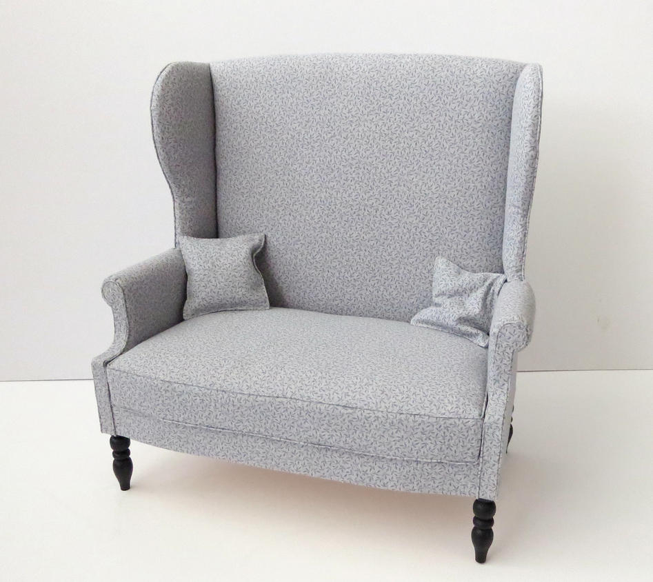 New Couches For Sale: New Wingback Sofa For Sale In My Etsy Shop By Meitina On